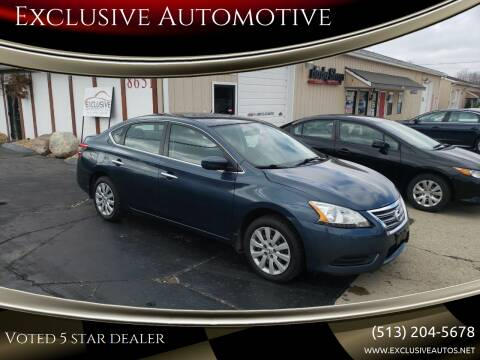 2014 Nissan Sentra for sale at Exclusive Automotive in West Chester OH