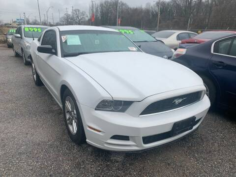 2014 Ford Mustang for sale at Super Wheels-N-Deals in Memphis TN