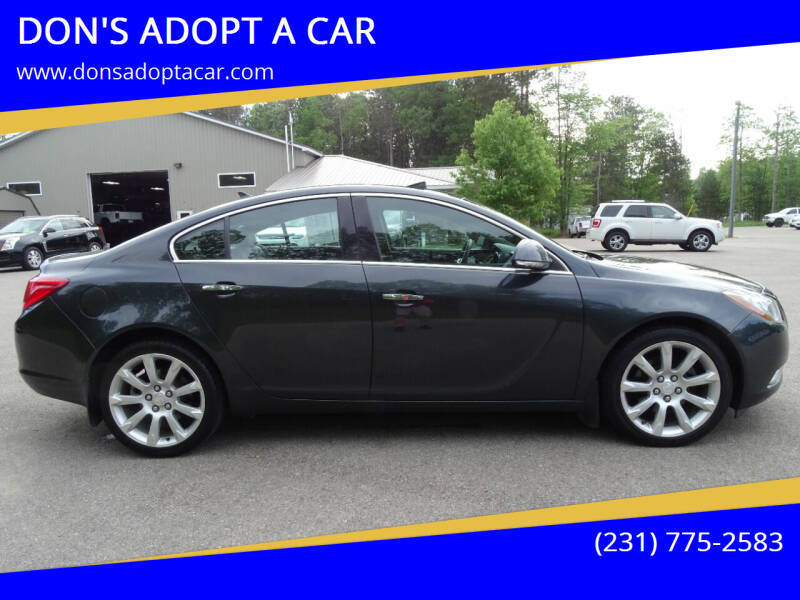 2013 Buick Regal for sale at DON'S ADOPT A CAR in Cadillac MI
