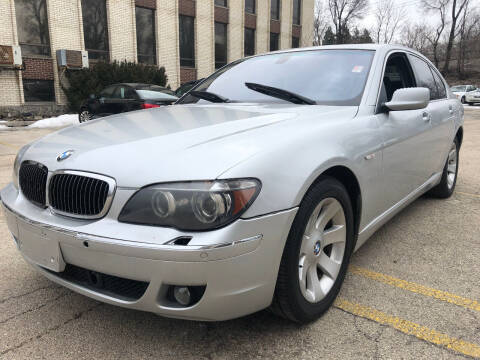 2007 BMW 7 Series for sale at Quality Auto Sales And Service Inc in Westchester IL