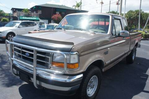 1993 Ford F-150 for sale at Dream Machines USA in Lantana FL