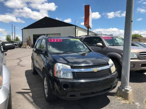 2008 Chevrolet Equinox for sale at BELOW BOOK AUTO SALES in Idaho Falls ID