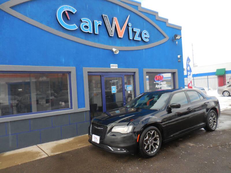 2015 Chrysler 300 for sale at Carwize in Detroit MI