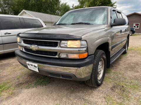 2001 Chevrolet Suburban for sale at Toy Box Auto Sales LLC in La Crosse WI