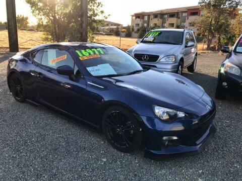2013 Subaru BRZ for sale at Quintero's Auto Sales in Vacaville CA
