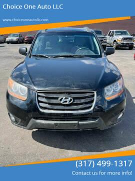 2010 Hyundai Santa Fe for sale at Choice One Auto LLC in Beech Grove IN