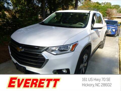 2018 Chevrolet Traverse for sale at Everett Chevrolet Buick GMC in Hickory NC
