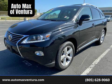 2015 Lexus RX 350 for sale at Auto Max of Ventura in Ventura CA