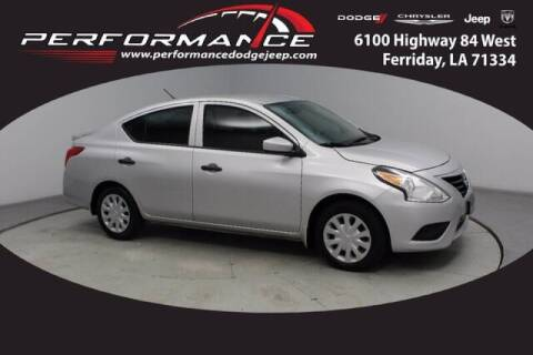2018 Nissan Versa for sale at Auto Group South - Performance Dodge Chrysler Jeep in Ferriday LA