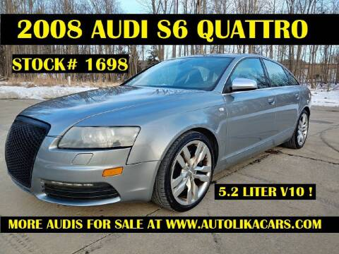 2008 Audi S6 for sale at Autolika Cars LLC in North Royalton OH