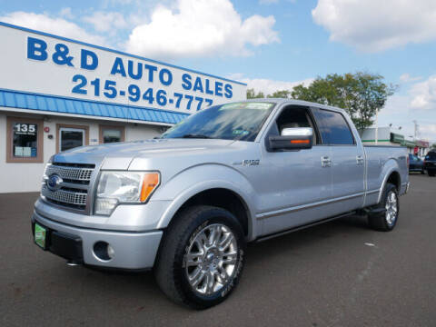 2010 Ford F-150 for sale at B & D Auto Sales Inc. in Fairless Hills PA