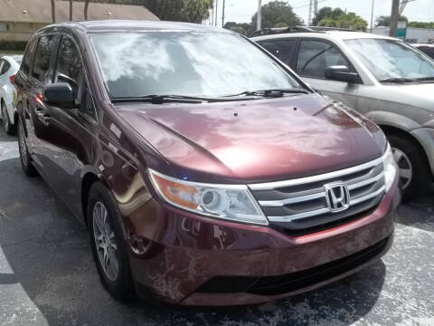2013 Honda Odyssey for sale at PJ's Auto World Inc in Clearwater FL
