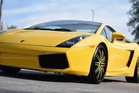 2004 Lamborghini Gallardo for sale at JacksonvilleMotorMall.com in Jacksonville FL