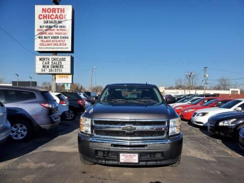 2010 Chevrolet Silverado 1500 for sale at North Chicago Car Sales Inc in Waukegan IL