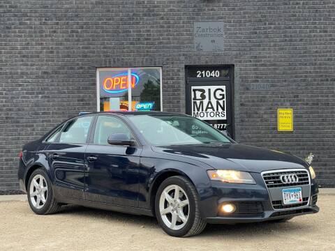 2009 Audi A4 for sale at Big Man Motors in Farmington MN
