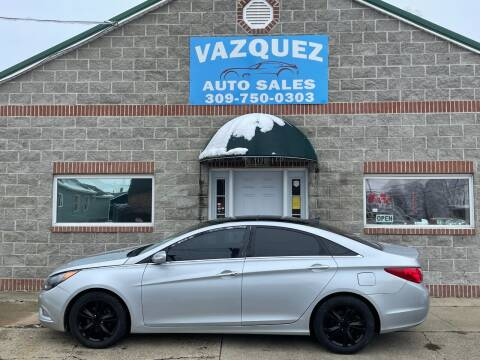 2012 Hyundai Sonata for sale at VAZQUEZ AUTO SALES in Bloomington IL