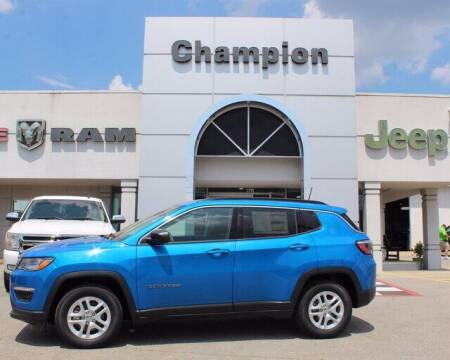 2020 Jeep Compass for sale at Champion Chevrolet in Athens AL