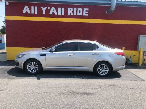 2011 Kia Optima for sale at Big Daddy's Auto in Winston-Salem NC