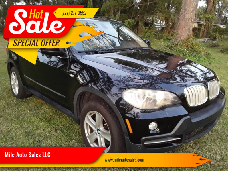 2007 BMW X5 for sale at Mile Auto Sales LLC in Holiday FL