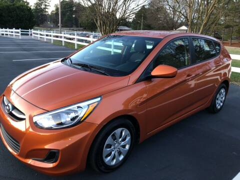 2017 Hyundai Accent for sale at Global Autos in Kenly NC