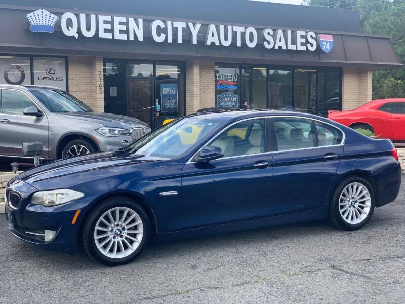 2011 BMW 5 Series for sale at Queen City Auto Sales in Charlotte NC