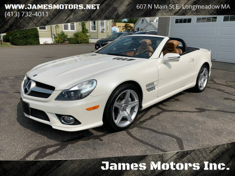 2011 Mercedes-Benz SL-Class for sale at James Motors Inc. in East Longmeadow MA
