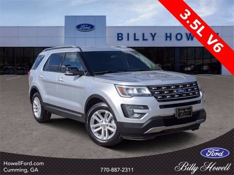 2017 Ford Explorer for sale at BILLY HOWELL FORD LINCOLN in Cumming GA