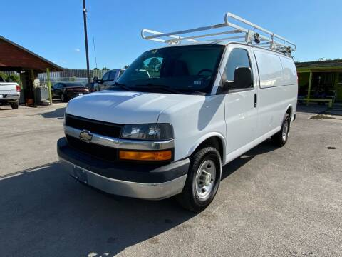 2016 Chevrolet Express Cargo for sale at RODRIGUEZ MOTORS CO. in Houston TX