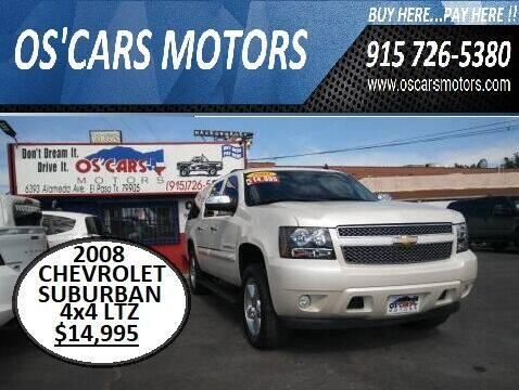 2008 Chevrolet Suburban for sale at Os'Cars Motors in El Paso TX