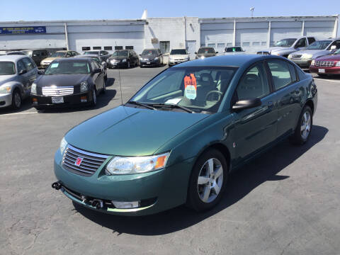 2007 Saturn Ion for sale at My Three Sons Auto Sales in Sacramento CA