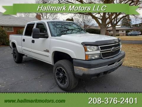 2006 Chevrolet Silverado 2500HD for sale at HALLMARK MOTORS LLC in Boise ID