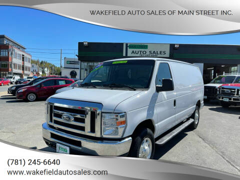2014 Ford E-Series Cargo for sale at Wakefield Auto Sales of Main Street Inc. in Wakefield MA