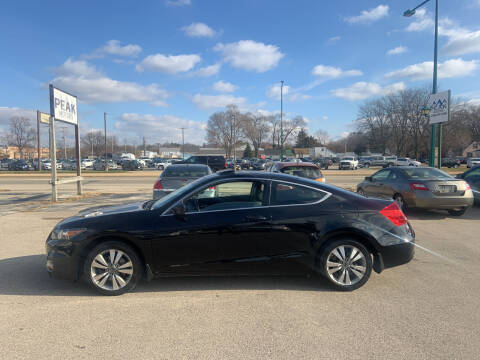 2011 Honda Accord for sale at Peak Motors in Loves Park IL