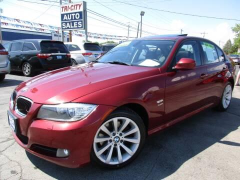 2011 BMW 3 Series for sale at TRI CITY AUTO SALES LLC in Menasha WI