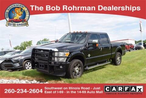 2016 Ford F-250 Super Duty for sale at BOB ROHRMAN FORT WAYNE TOYOTA in Fort Wayne IN