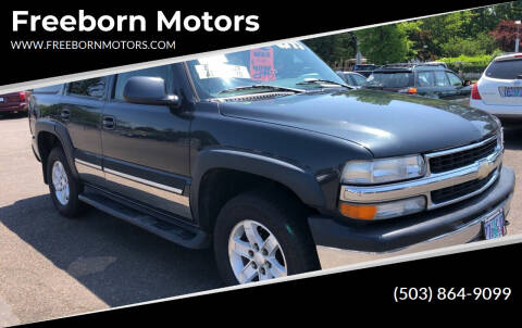 2006 Chevrolet Tahoe for sale at Freeborn Motors in Lafayette, OR