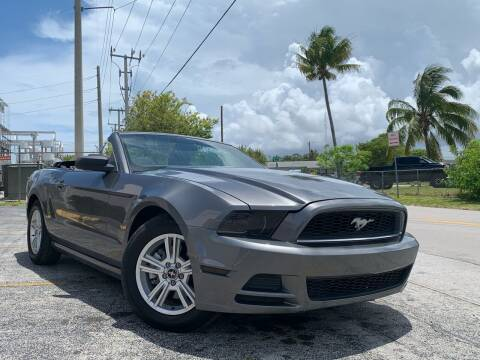 2014 Ford Mustang for sale at YID Auto Sales in Hollywood FL