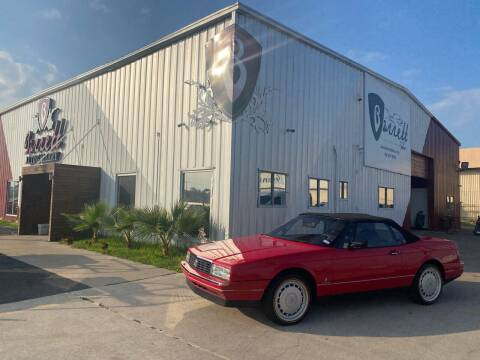 1992 Cadillac Allante for sale at Barrett Auto Gallery in San Juan TX
