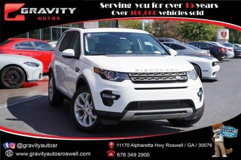 2016 Land Rover Discovery Sport for sale at Gravity Autos Roswell in Roswell GA