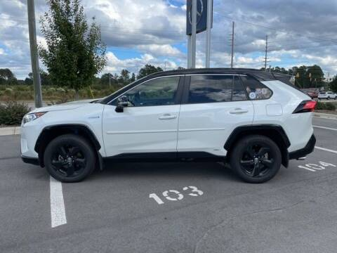 2019 Toyota RAV4 Hybrid for sale at PHIL SMITH AUTOMOTIVE GROUP - MERCEDES BENZ OF FAYETTEVILLE in Fayetteville NC