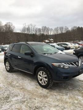 2012 Nissan Murano for sale at Lavictoire Auto Sales in West Rutland VT