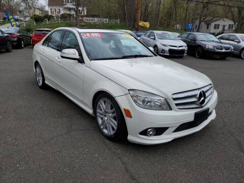 2009 Mercedes-Benz C-Class for sale at CENTRAL AUTO GROUP in Raritan NJ