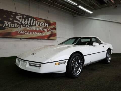 1990 Chevrolet Corvette for sale at SULLIVAN MOTOR COMPANY INC. in Mesa AZ