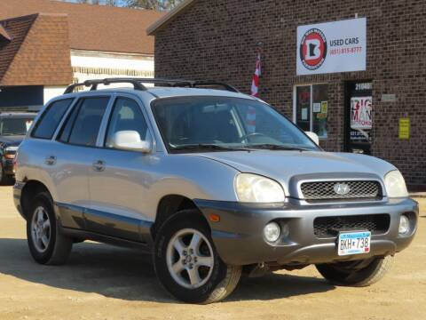 2004 Hyundai Santa Fe for sale at Big Man Motors in Farmington MN