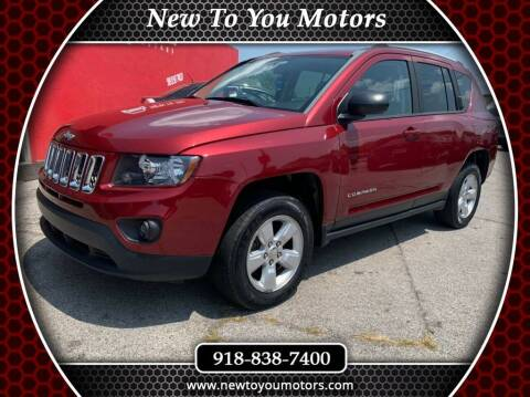 2015 Jeep Compass for sale at New To You Motors in Tulsa OK