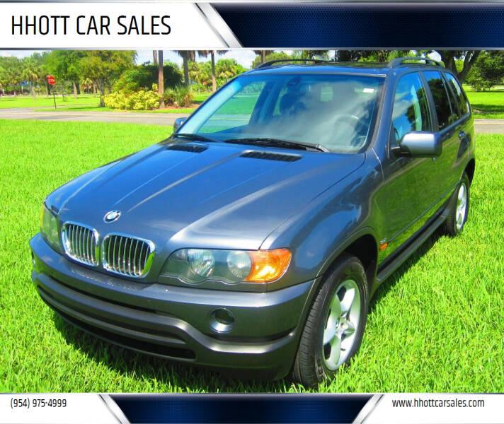 2002 BMW X5 for sale at HHOTT CAR SALES in Deerfield Beach FL