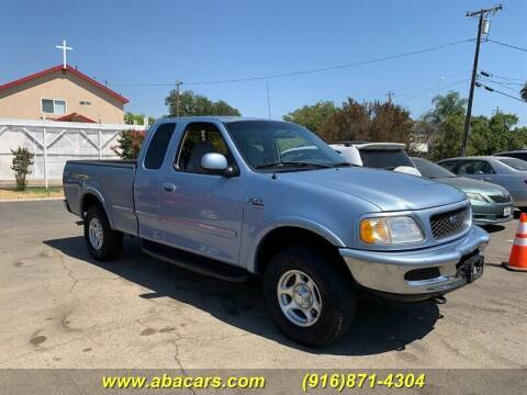 1998 Ford F-150 for sale at About New Auto Sales in Lincoln CA