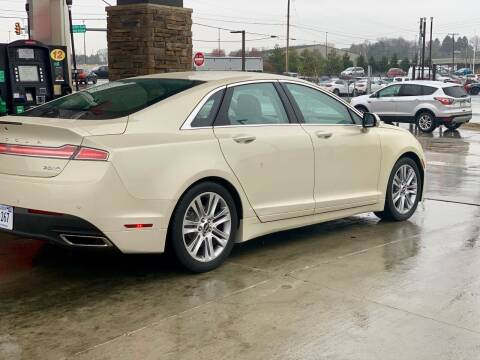 2015 Lincoln MKZ for sale at XCELERATION AUTO SALES in Chester VA