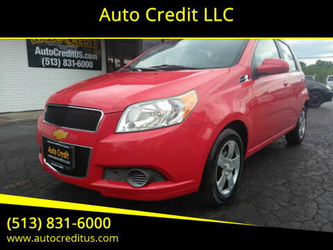 2010 Chevrolet Aveo for sale at Auto Credit LLC in Milford OH