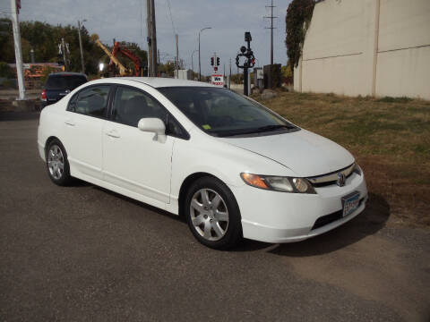 2008 Honda Civic for sale at Metro Motor Sales in Minneapolis MN